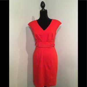Jenifer Lopez Orange Dress Size 6